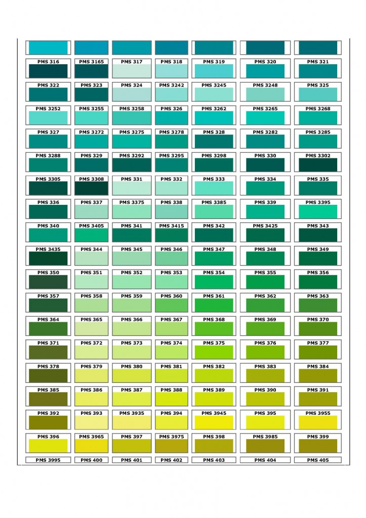 our products - Pms Color Book